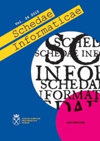 Schedae Informaticae, 2015/1, Volume 24