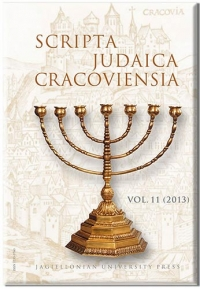 Scripta Judaica Cracoviensia, 2016/1, Volume 14