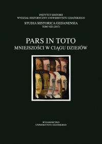 Studia Historica Gedanensia, 2017/12, Tom 8 (2017)