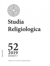 Studia Religiologica, 2019/4, Tom 52, Numer 1