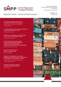 Studia Migracyjne – Przegląd Polonijny, 2019/9, Nr 2 (172)