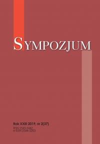 Sympozjum, 2019/12, nr 2 (37)