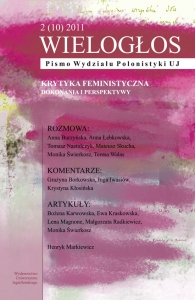 Wielogłos, 2011/8, Zeszyt 2 (10)