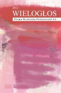 Wielogłos, 2012/10, Numer 2 (12)