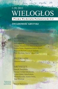 Wielogłos, 2011/3, Numer 1 (9)
