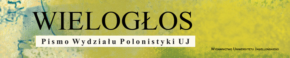 Wielogłos, 2018/12, Special Issue English Version