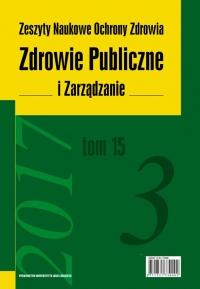 Zdrowie Publiczne i Zarządzanie, 2017/11, Tom 15, Numer 3