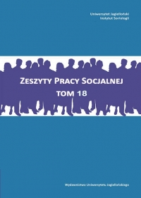 Zeszyty Pracy Socjalnej, 2013/8, Tom 18, Numer 3