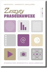 Zeszyty Prasoznawcze, 2019/6, Tom 62, Numer 2 (238)