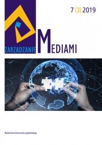 Zarządzanie Mediami, 2019/10, Tom 7, Numer 3