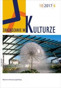 Zarządzanie w Kulturze, 2017/12, Tom 18, Numer 4