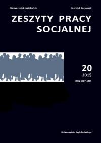 Zeszyty Pracy Socjalnej, 2015/11, Tom 20, numer 3