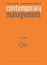 International Journal of Contemporary Management, 2018/7, Numer 17(2)