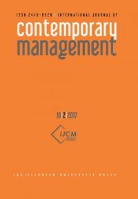 International Journal of Contemporary Management, 2017/10, Numer 16(2)