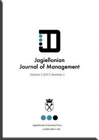 Jagiellonian Journal of Management, 2017/10, Numer 2