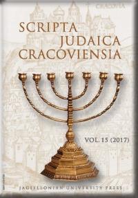 Scripta Judaica Cracoviensia, 2017/12, Volume 15