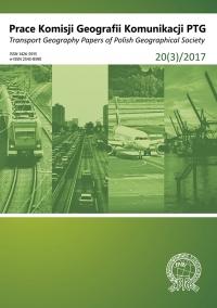 Prace Komisji Geografii Komunikacji PTG , 2017/11, 20(3)