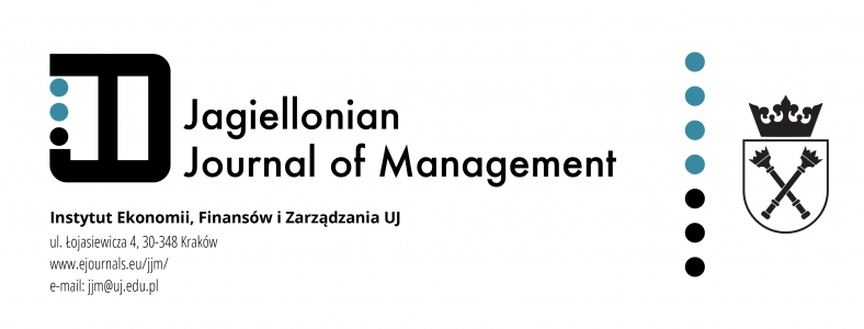 Jagiellonian Journal of Management, 2016/4, The role of a manager in shaping behavioural cultural competitive advantage of the enterprises