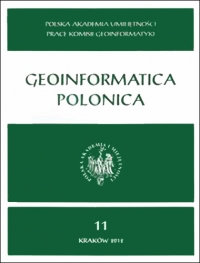 Geoinformatica Polonica, 2015/12, Vol. 14 (2015)