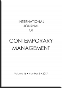 International Journal of Contemporary Management, 2017/12, Numer 16(2)