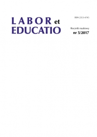 Labor et Educatio, 2017/1, 5 (2017)