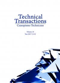 Czasopismo Techniczne, 2017/10, Volume 10