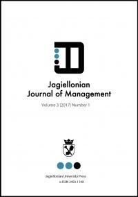 Jagiellonian Journal of Management, 2017/6, Numer 1