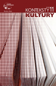 Konteksty Kultury, 2014/11, Tom 11, Numer 3