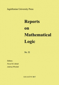 Reports on Mathematical Logic, 2017/8, Number 52