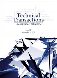 Czasopismo Techniczne, 2018/12, Volume 12