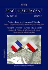 Prace Historyczne, 2015/12, Numer 142 (4)
