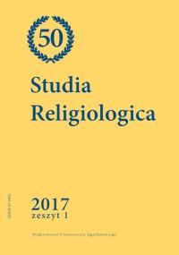 Studia Religiologica, 2017/6, Tom 50, Numer 1