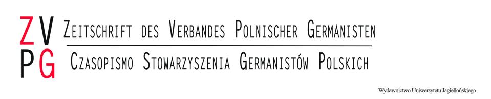 Zeitschrift des Verbandes Polnischer Germanisten, 2015/1, Ein integriertes Rhetoriktraining. Ansätze für germanistische Studiengänge im Ausland