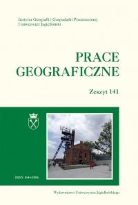 Prace Geograficzne, 2015/8, Zeszyt 141