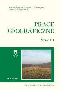 Prace Geograficzne, 2016/5, Zeszyt 144
