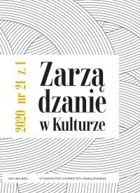 Zarządzanie w Kulturze, 2020/3, Tom 21, Numer 1