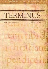 Terminus, 2010/6, Tom XII zeszyt 22