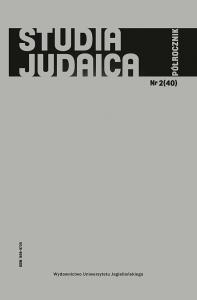 Studia Judaica, 2017/12, Nr 2 (40)