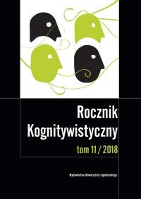Rocznik Kognitywistyczny, 2018/5, Tom 11