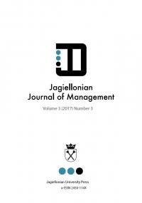 Jagiellonian Journal of Management, 2017/12, Numer 3