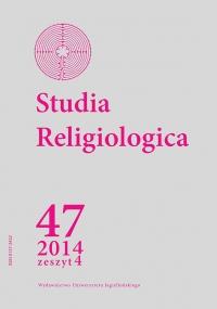 Studia Religiologica, 2014/12, Tom 47, Numer 4