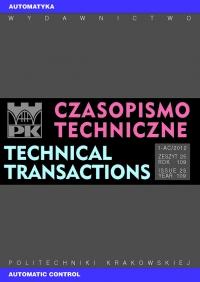 Czasopismo Techniczne, 2012/12, Automatyka Zeszyt 1-AC (25) 2012