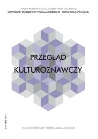 Przegląd Kulturoznawczy, 2020/9, Numer 4 (46)