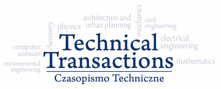 Czasopismo Techniczne, 2019/12, Prediction of thickness of pantograph contact strips using Artificial Neural Networks