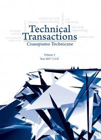 Czasopismo Techniczne, 2017/3, Volume 3