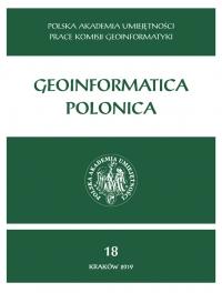 Geoinformatica Polonica, 2019/12, Vol. 18 (2019)