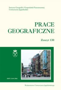 Prace Geograficzne, 2012/11, Zeszyt 130
