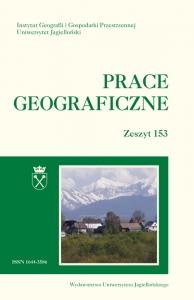 Prace Geograficzne, 2018/6, Zeszyt 153