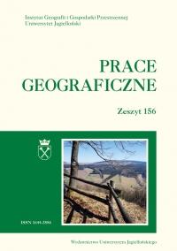 Prace Geograficzne, 2019/3, Zeszyt 156