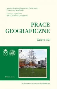 Prace Geograficzne, 2020/12, Zeszyt 163